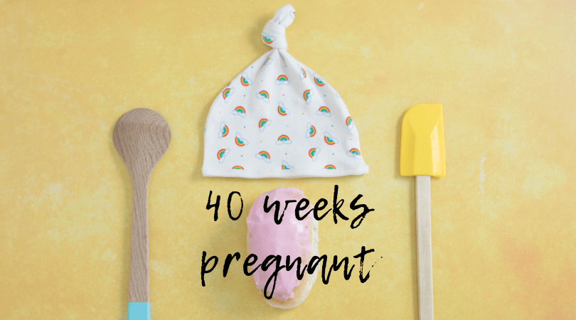 Baking a Bun // 40 weeks pregnant