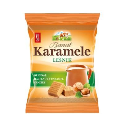 KARAMELE LEŠNIK 100 G