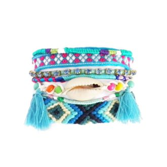 dónde comprar pulsera party arm azul