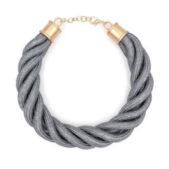 Collar cordón trenzado