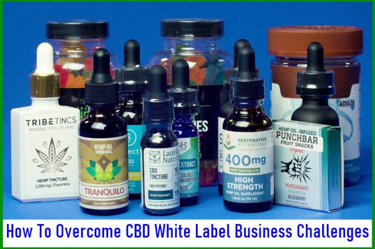 How To Overcome CBD White Label Business Challenges
