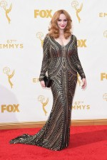 Christina Hendricks Dress by Naeem Khan