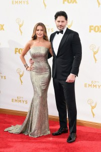 Sofia Vergara, Joe Manganiello Dress by St. John