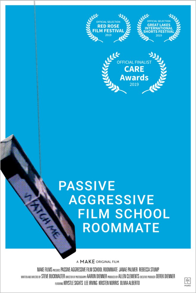 passive aggressive film school roommate | make films