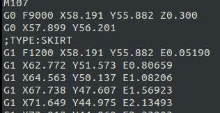 Примерен G-Code готов за 3D принтиране.