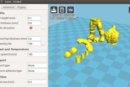 Cura - програма за 3D принтиране.