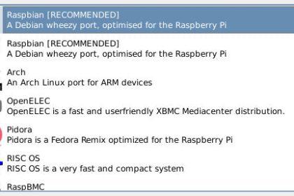 Raspberry Pi OS - Raspbian, NOOBS, Pidora