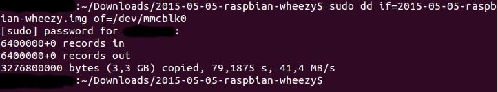 Инсталация на Raspbian под Linux за Raspberry Pi.