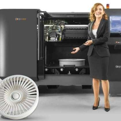 Индустриален 3D принтер Stratasys Object 1000.