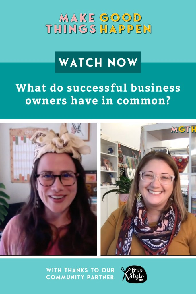 Belinda Harris on what do successful business owners have in common?