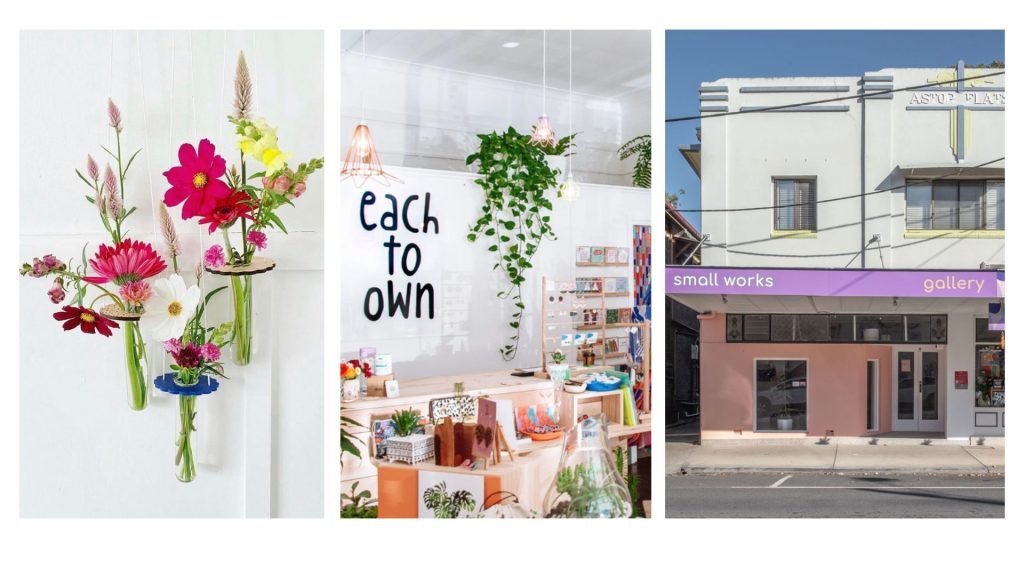 Kirsten Devitt's projects including Keep Oh, Each To Own the Shop and Small Works Gallery