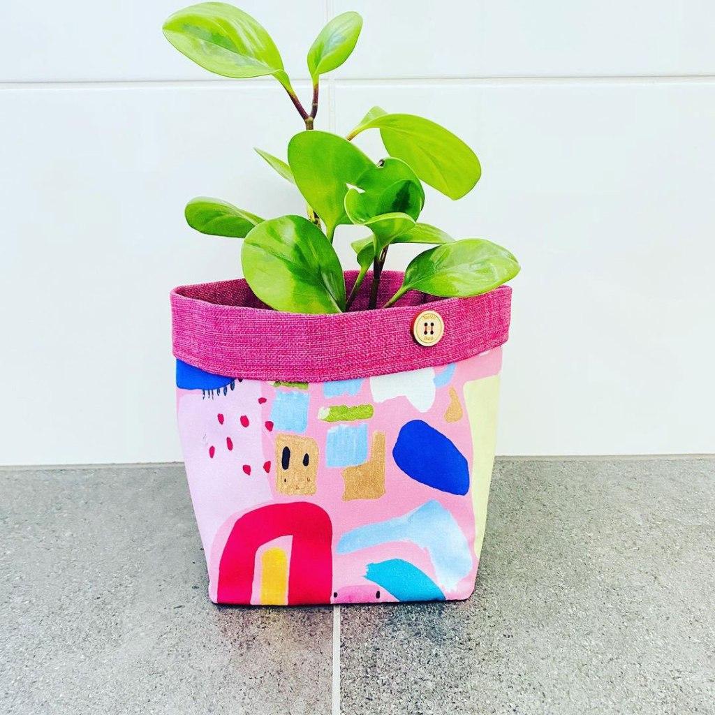 Nene & Bop Fabric Planter