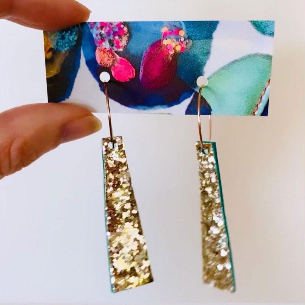 Nene & Bop Glitter Earrings