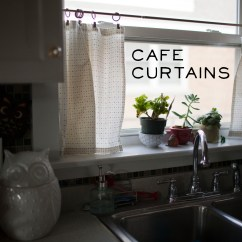 Cafe Curtains For Kitchen Kraft Cabinets Make Great