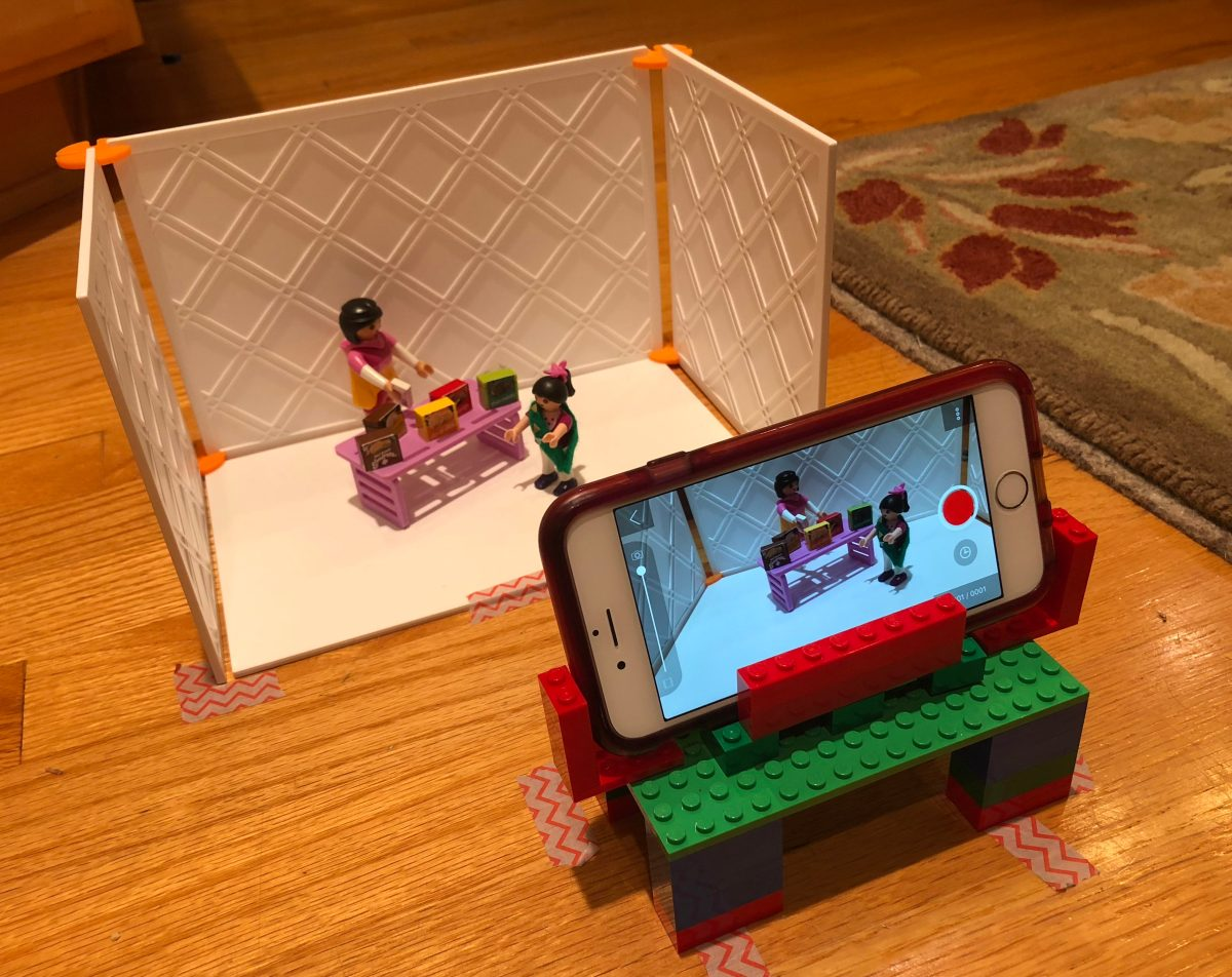 Stop Motion Animation for the Girl Scout Entertainment Technology Badge