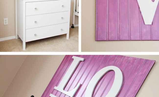 Wall Decor Wooden Love Sign Make It And Love It