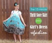 Thrift Store Girls Dresses