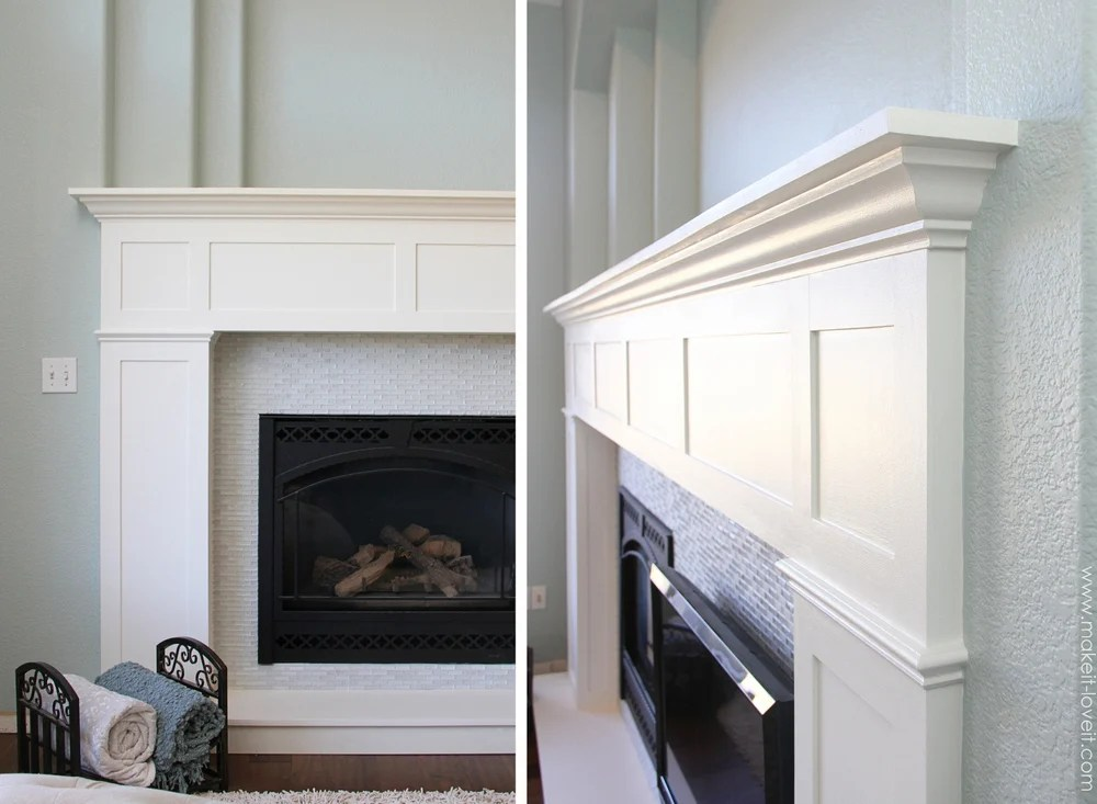 Home Improvement Build your own Fireplace Mantel  Hearth craftsman style  Make It and Love It