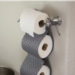 Diy Fabric Toilet Paper Holder Make It And Love It