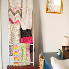 Baby Room Rocking Chair Where Can I Rent A Shower Diy Blanket Storage Display Ladder | Make It And Love
