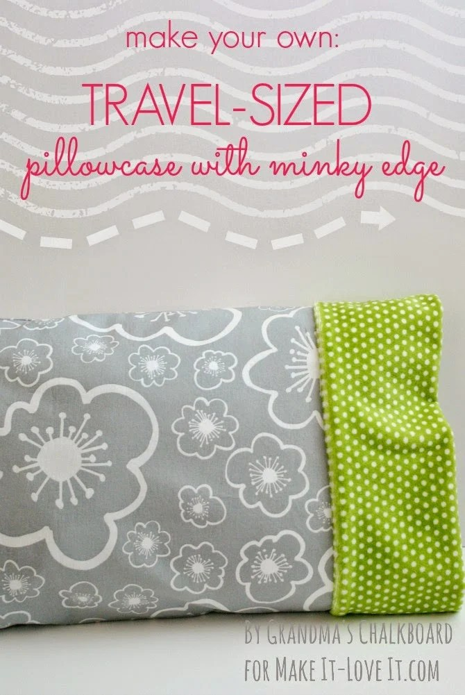 travel sized pillowcase with