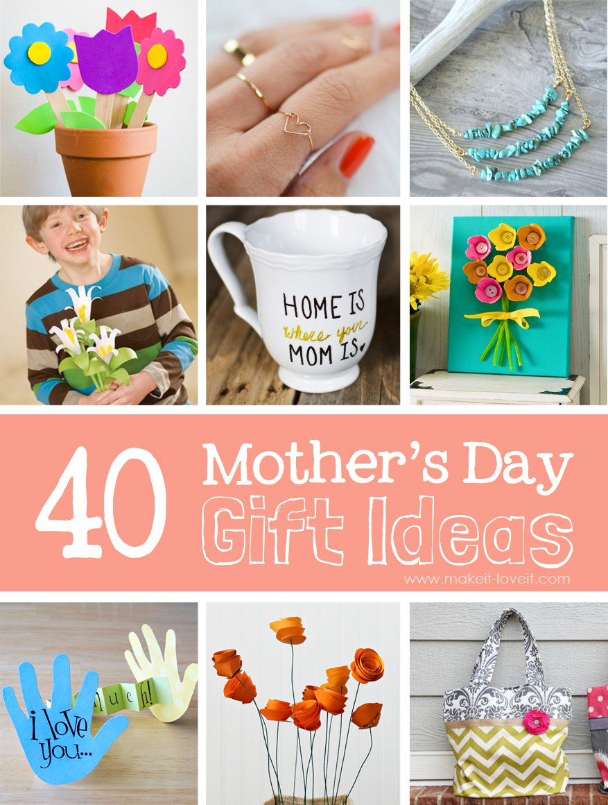 55 Mother's Day Diy Gift Ideas  Make It And Love It