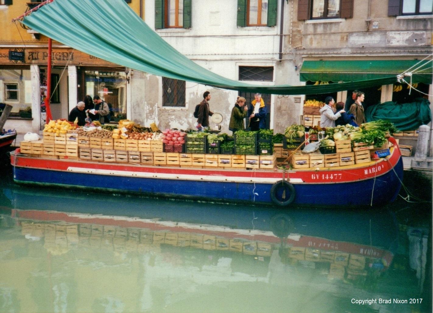 Venice: Boat Building, Bridge Fights and a Boat Legend
