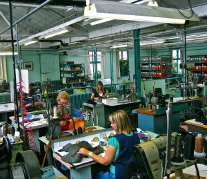 Grenson Shoes being made at their factory