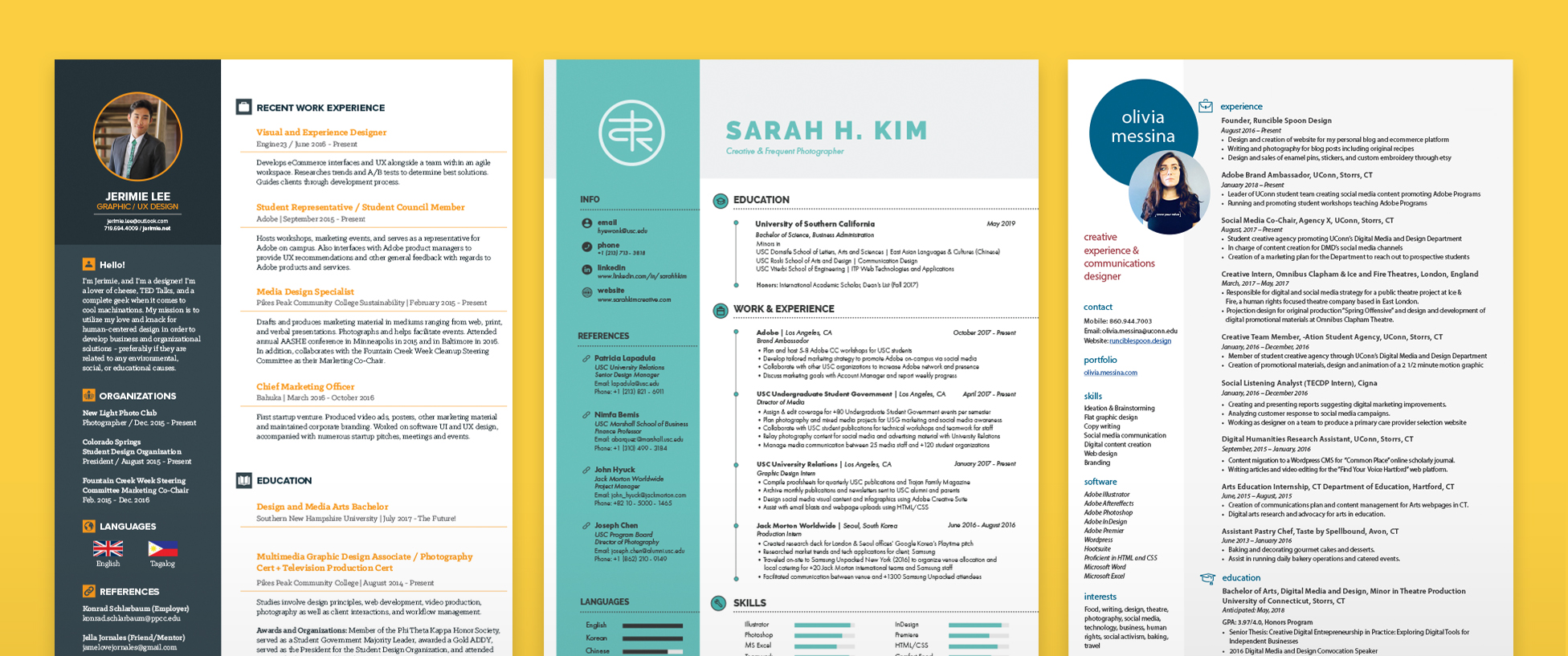 How To Make A Resume Website Resume Templates That Get The Job Done Make It