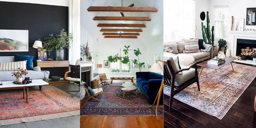 nowy dywan który wygląda jak stary salon