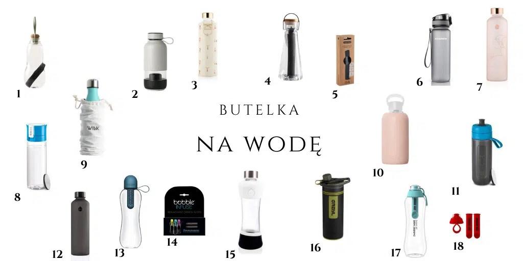 butelka filtrująca wodę bidon z filtrem węglowym