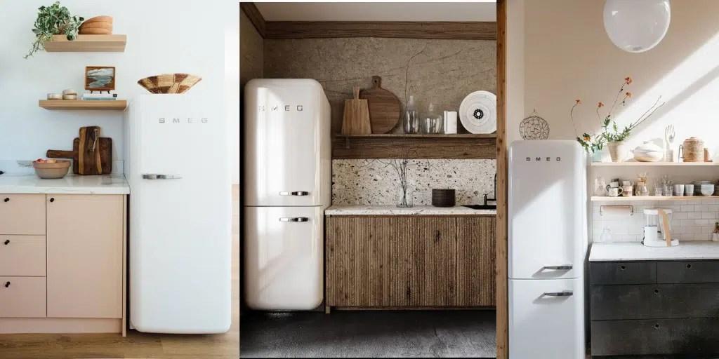 lodówka SMEG w kuchni czy warto kupić chłodziarko-zamrażalka