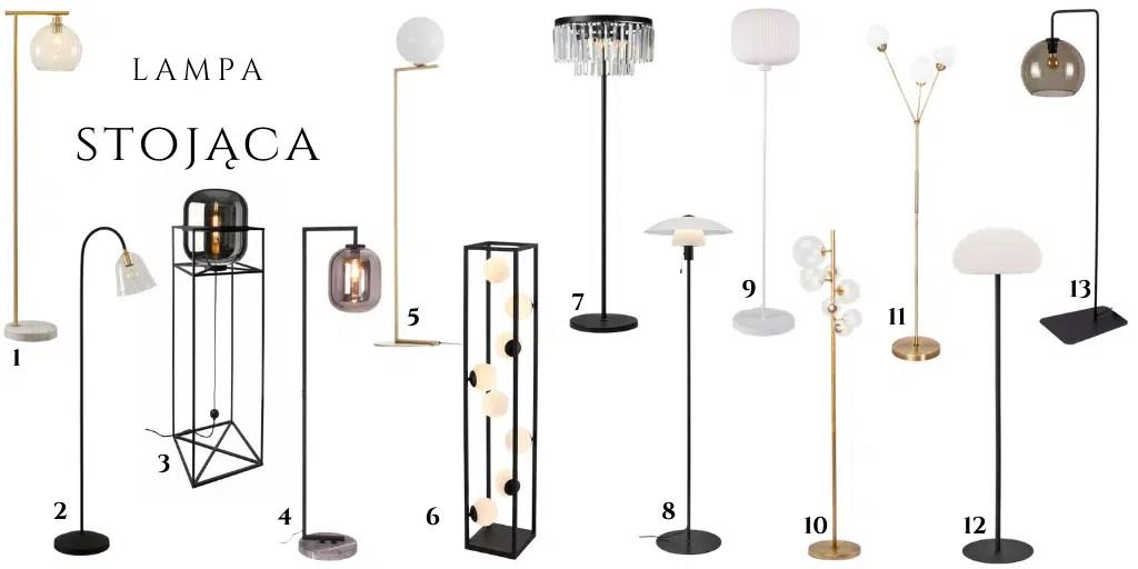 lampy stojące do salonu klosz kula gdzie kupić sklep lampy.pl