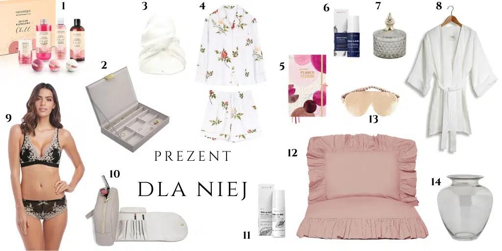 prezent walentynkowy dla kobiety pomysł na upominek na walentynki do spania do domowego spa do relaksu whitepocket chabur bielizna