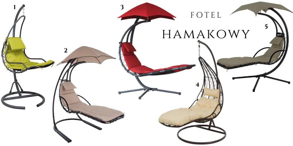 fotele hamakowe fotel leżak wiszący gdzie kupić fotele wiszące do opalania się