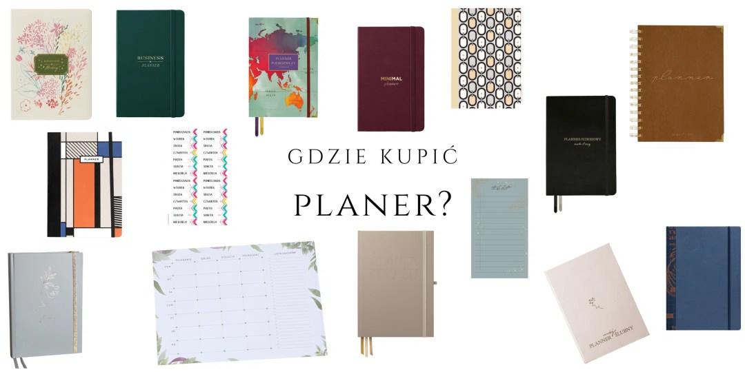 planer gdzie kupić planner polskiej marki do biura do noszenia w torebce ładny estetyczny