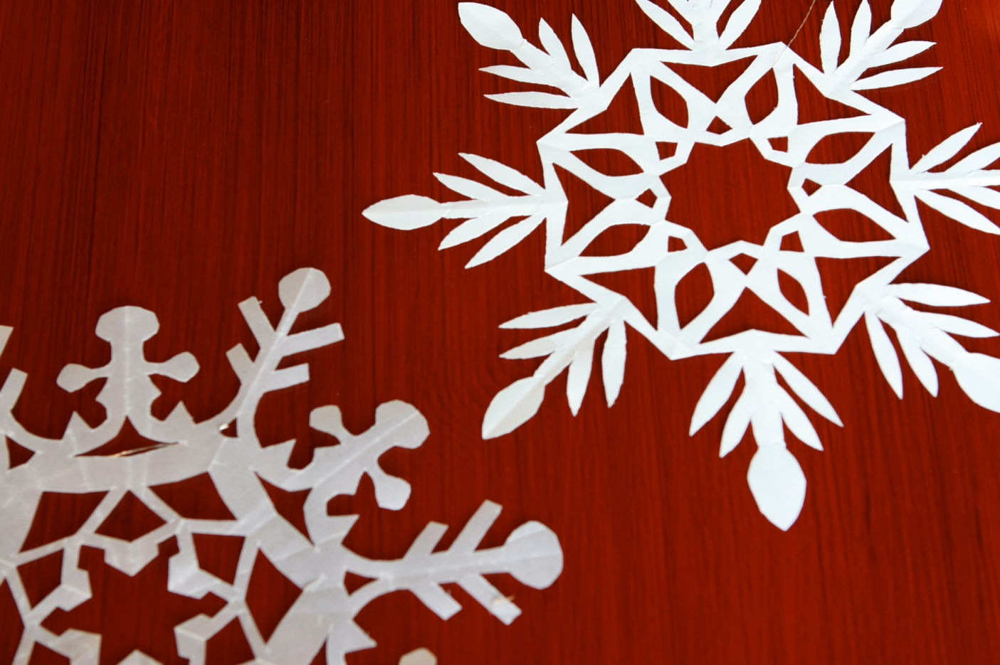 How To Make Hand Cut Snowflakes