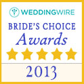 WeddingWire Brides Choice Awards 2013