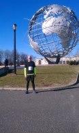 Always proud to run in my hometown.