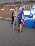 Quite the honor to medal in the West Point 5K.