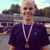3rd place finish, Sept. 7, 2014