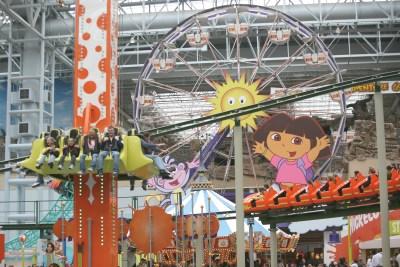 MOA, Nickelodeon Universe, Bloomington.