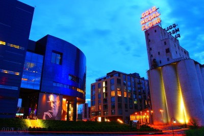 The Guthrie Theatre/Mill City Museum, Minneapolis.