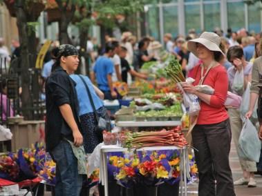 Saint Paul Farmers Market, Saint Paul, MN.