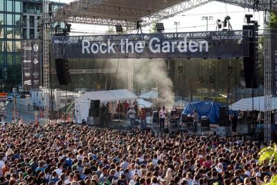 Rock the Garden, Minneapolis.