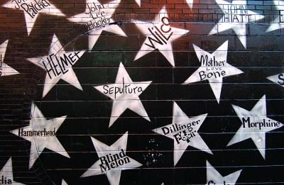 7th Street Entry Stars, First Avenue, Minneapolis.