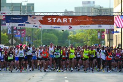 Twin Cities Marathon Start