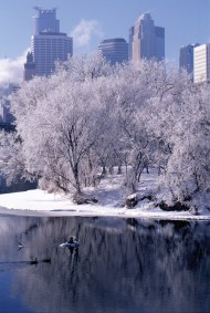 Winter in the City, Minneapolis