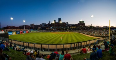 CHS Field, Home of the Saint Paul Saints.