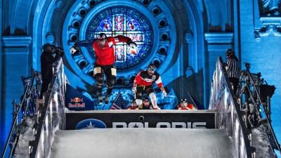 Red Bull Crashed Ice, Saint Paul.